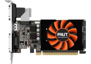 Видеокарта Palit GeForce GT 730 1024MB GDDR5 (NE5T7300HD06-2081F)