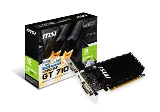 Видеокарта MSI GeForce GT 710 2GB DDR3 (GT 710 2GD3H LP)