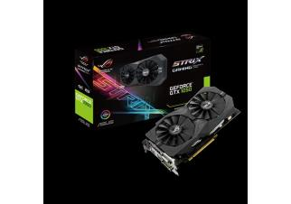 Видеокарта Asus Geforce GTX 1050 OC 2GB GDDR5 ROG (STRIX-GTX1050-O2G-GAMING)