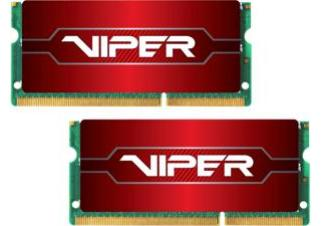 Оперативная память Patriot Viper Series 2x8GB DDR4 SODIMM PC4-21300 (PV416G266C8SK)