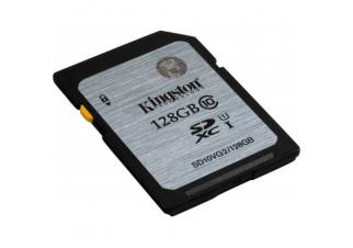 Карта памяти Kingston SDXC (Class 10) 128GB (SD10VG2/128GB)