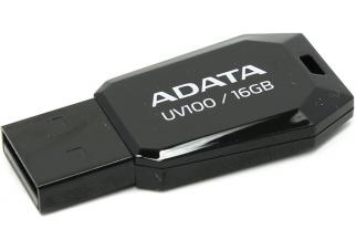 USB флешка A-Data DashDrive UV100 16GB (AUV100-16G-RBK)