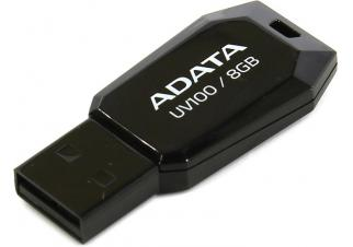 USB флешка A-Data DashDrive UV100 8GB (AUV100-8G-RBK)