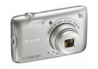 Фотоаппарат Nikon Coolpix A300 (Black and Silver)