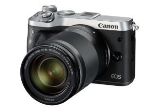 Фотоаппарат Canon EOS M6 Kit 18-150mm (Silver)