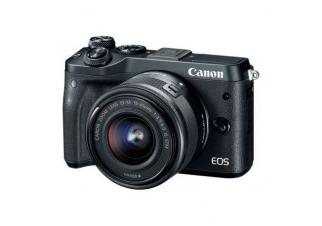 Фотоаппарат Canon EOS M6 Kit 15-45mm (Black)