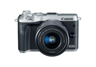 Фотоаппарат Canon EOS M6 Kit 15-45mm (Silver)