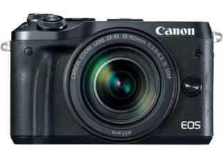 Фотоаппарат Canon EOS M6 Kit 18-150mm (Black)