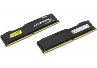 Оперативная память Kingston HyperX 2x8GB DDR4 PC4-17000 (HX421C14FB2K2/16)