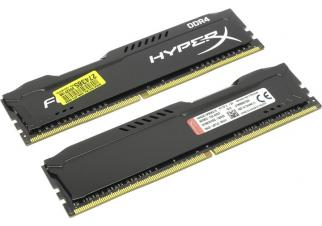 Оперативная память Kingston HyperX FURY 2x8GB DDR4 PC4-19200 (HX424C15FB2K2/16)