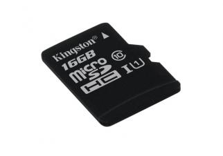 Карта памяти Kingston microSDHC UHS-I 16GB (SDC10G2/16GBSP) (без адаптера)