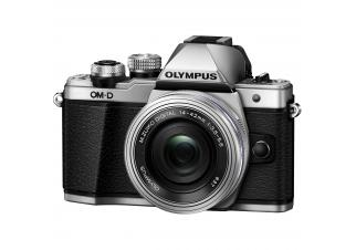 Фотоаппарат Olympus OM-D E-M10 Mark III Kit 14-42mm II R (серебристый)