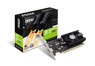 Видеокарта MSI GeForce GT 1030 LP OC 2GB GDDR5 (GT 1030 2G LP OC)