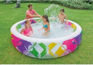 Бассейн Intex Swim Center Pinwheel 229х56 (56494)