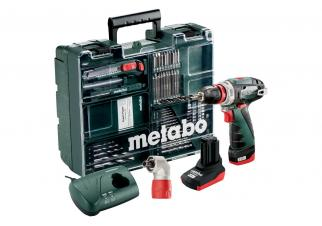 Шуруповерт Metabo PowerMaxx BS Quick Pro SET (600157880)