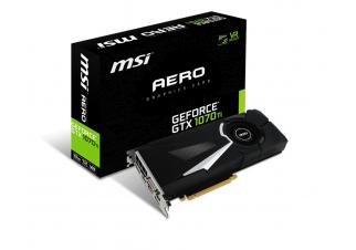 Видеокарта MSI GeForce GTX 1070 Ti Aero 8GB GDDR5