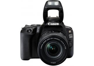 Фотоаппарат Canon EOS 200D Kit 18-55 IS STM (черный)