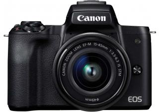 Фотоаппарат Canon EOS M50 Kit 15-45mm (черный)
