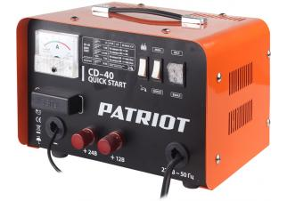 Пуско-зарядное устройство Patriot Quick Start CD-40