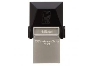 USB флешка Kingston DataTraveler microDuo 16GB (DTDUO3/16GB)