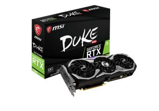 Видеокарта MSI GeForce RTX 2080 Duke OC 8GB GDDR6