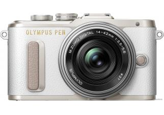 Фотоаппарат Olympus PEN E-PL8 Kit 14-42 EZ (белый)