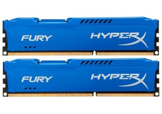 Оперативная память Kingston HyperX Fury Blue 2x4GB KIT DDR3 PC3-14900 (HX318C10FK2/8)