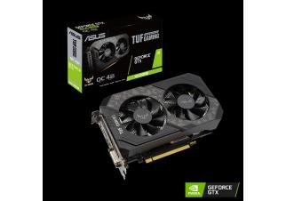 Видеокарта Asus TUF Gaming GeForce GTX 1650 Super OC 4GB (TUF-GTX1650S-O4G-GAMING)